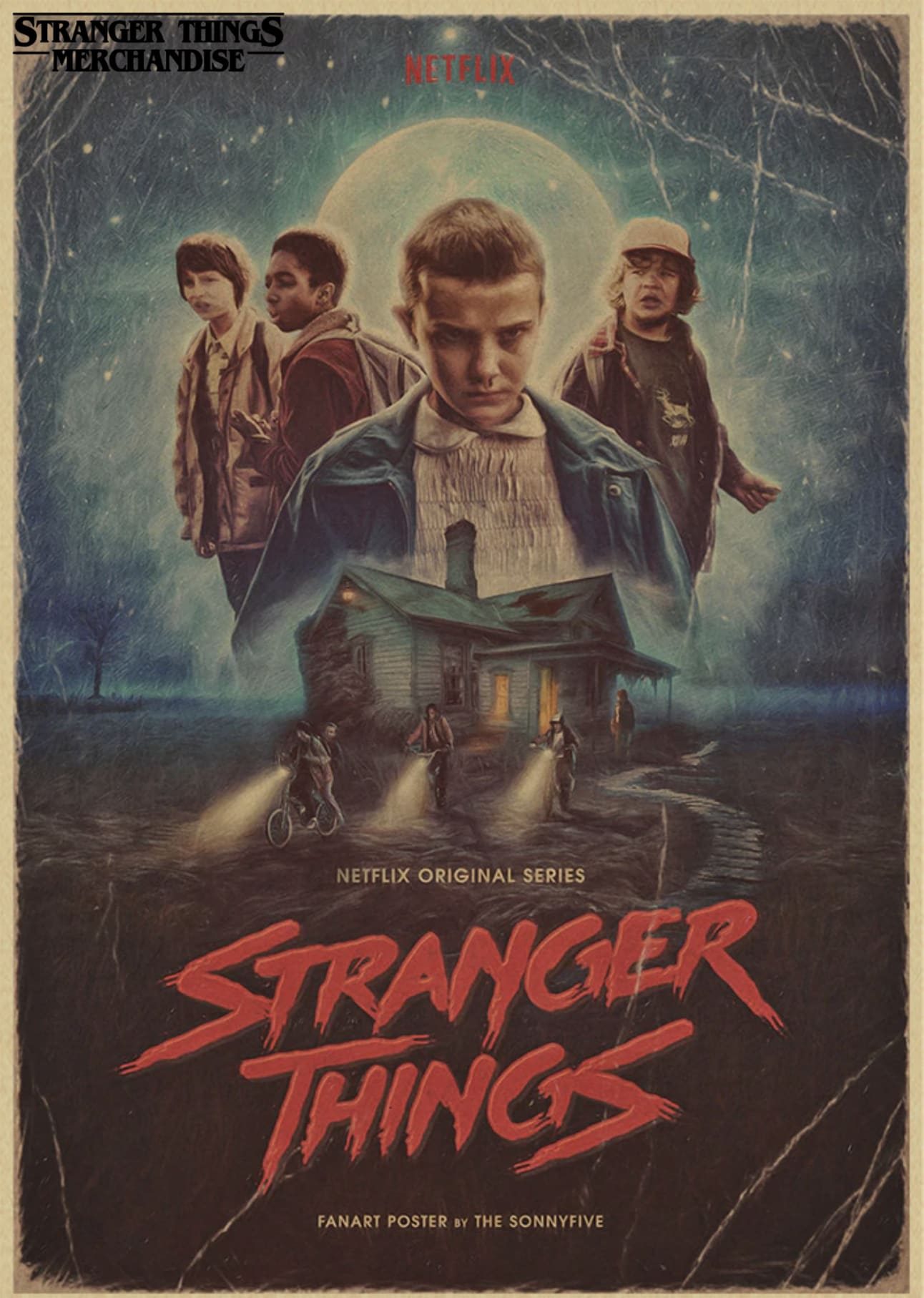Stranger Things Poster <br>Original
