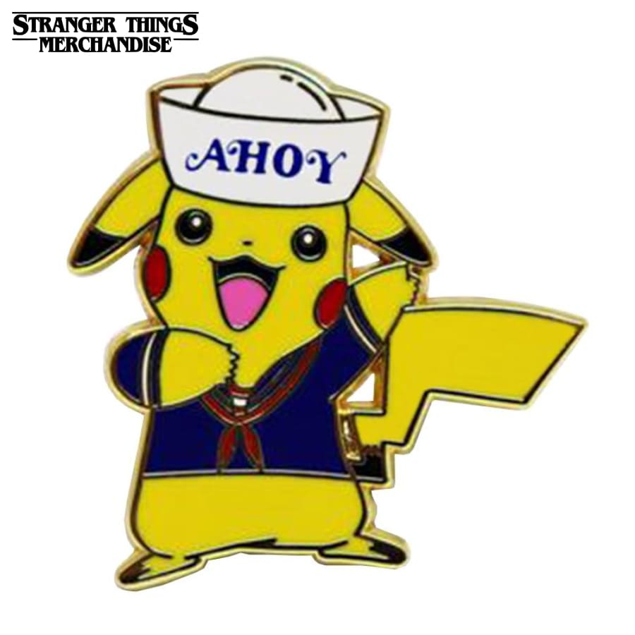 Stranger Things Pin <br>Pikachu Ahoy
