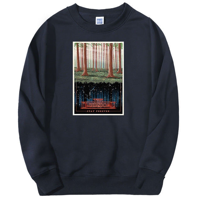 Stranger Things Sweatshirt Upside World