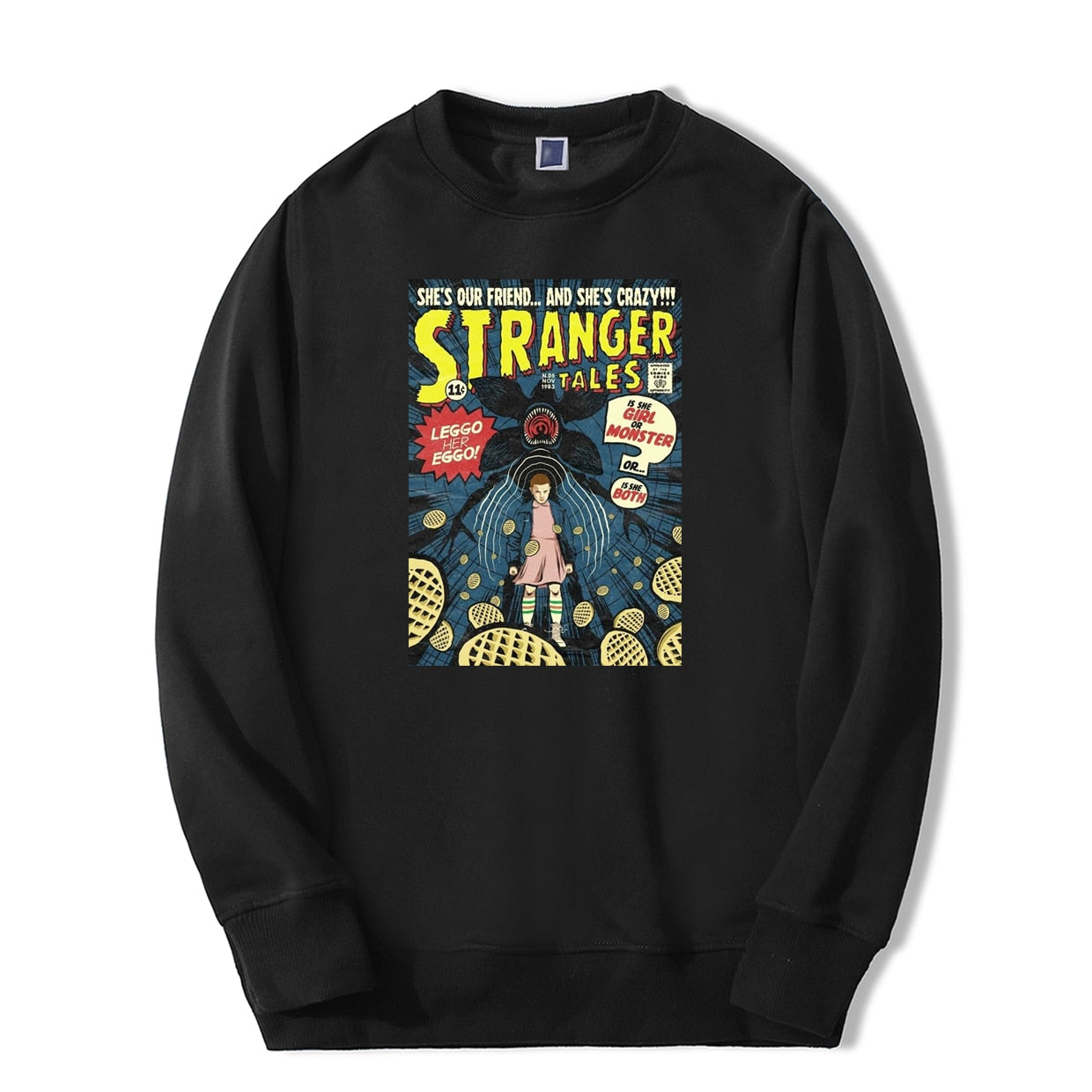 Stranger Things Sweatshirt <br>Eleven Eggos