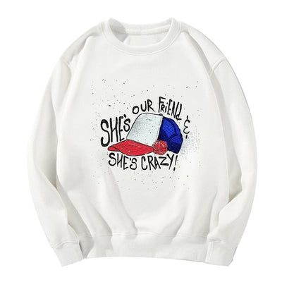 Stranger Things Sweatshirt <br>Dustin and Eleven