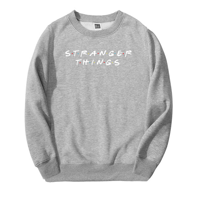 Stranger Things Sweatshirt Friends Logo