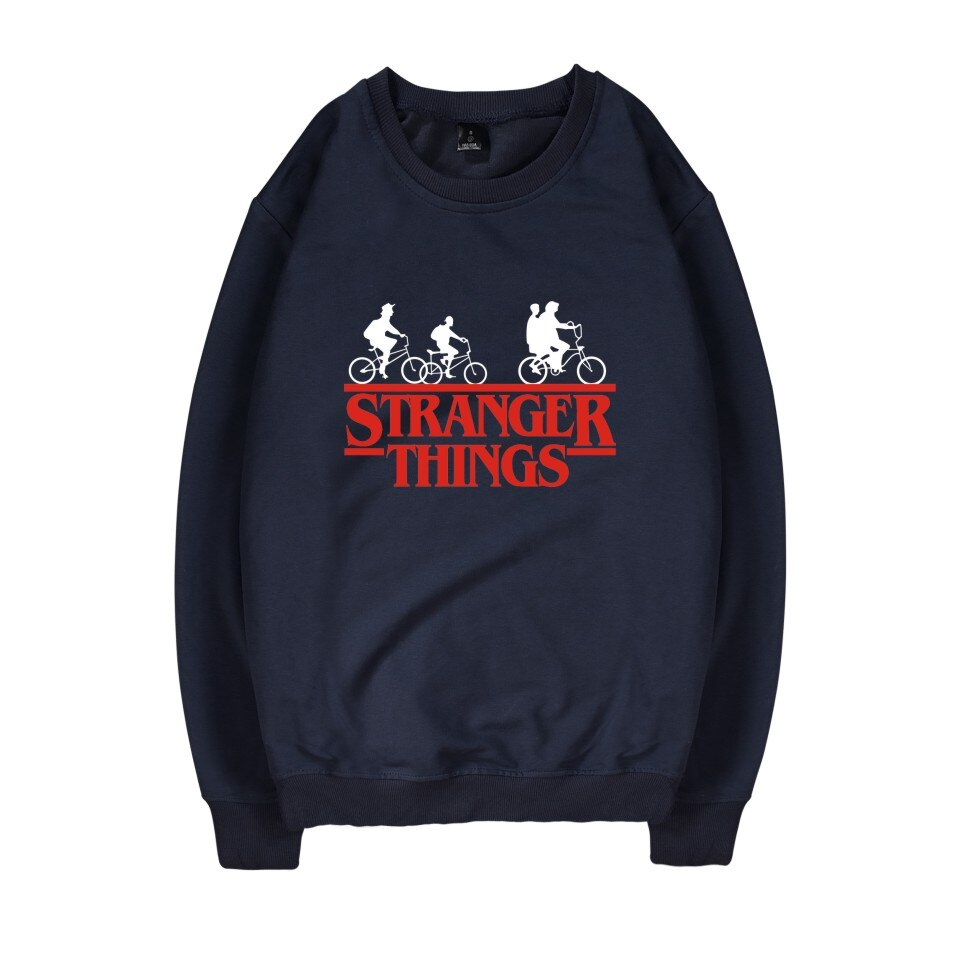 Stranger Things Sweatshirt <br>Bicycle Logo
