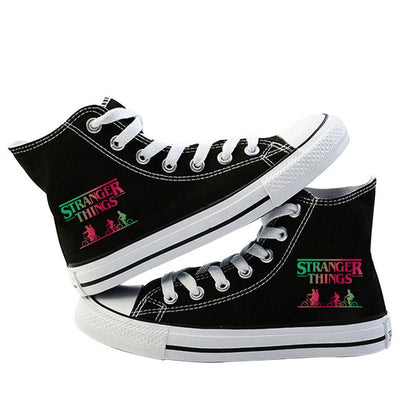 Stranger Things Shoes <br>Multicolor Logo