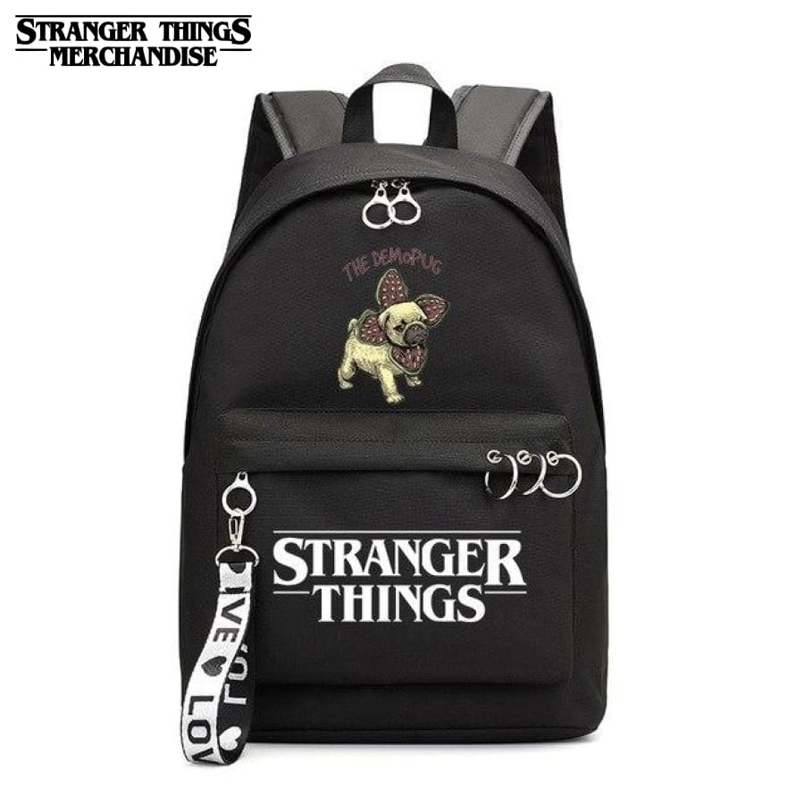 Stranger Things Mini Backpack <br> Pug