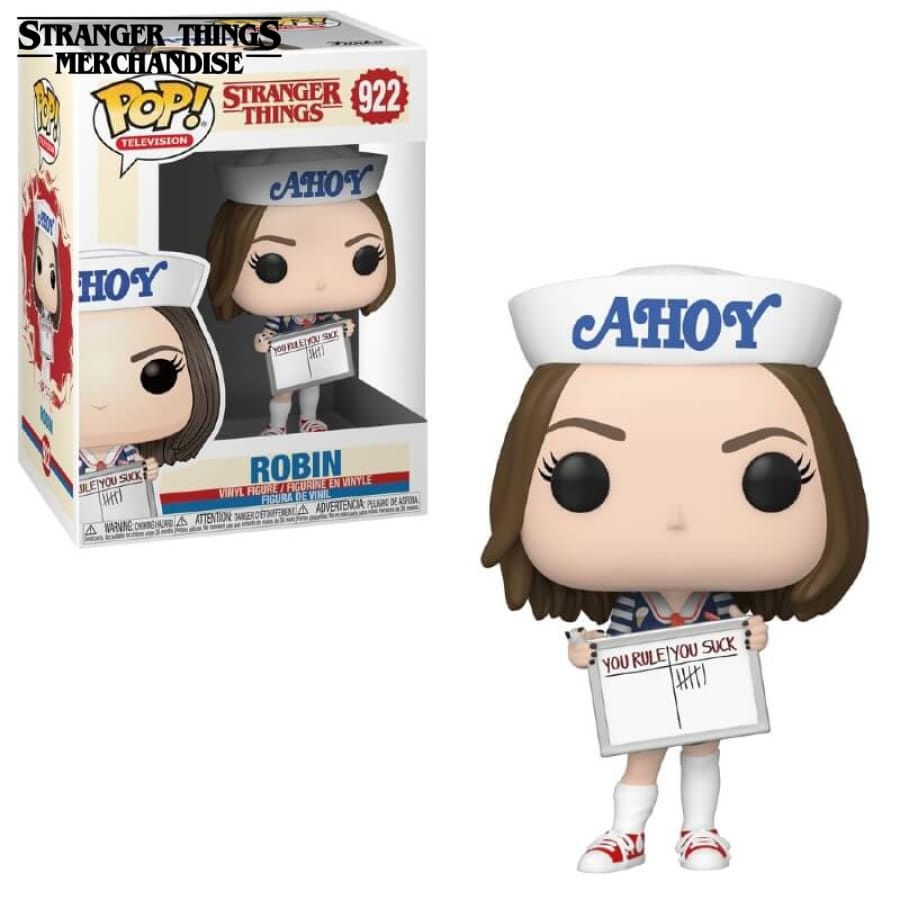 Stranger Things Funko Pop <br>Robin Deadpool