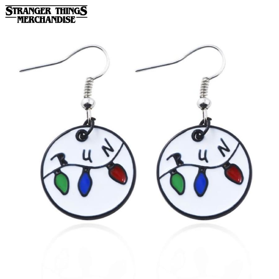 Stranger Things Earrings <br>Run