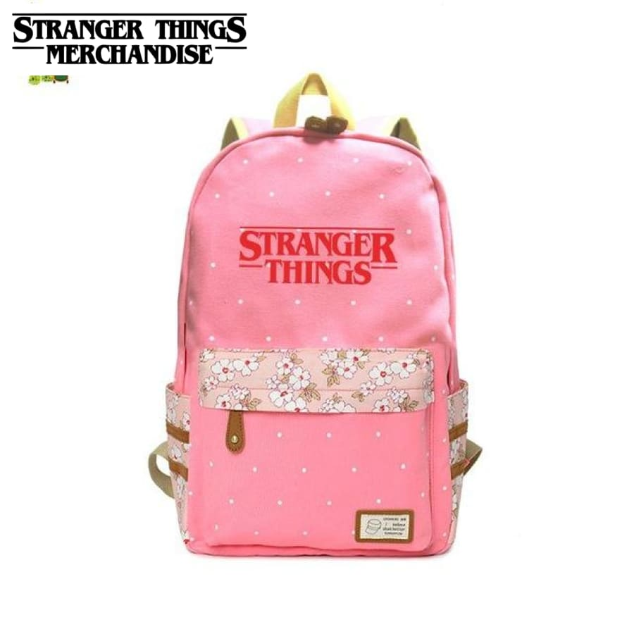 School Pink Backpack