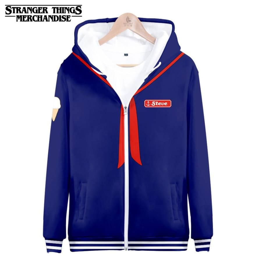 Stranger Things Jacket <br>Steve Scoops Ahoy