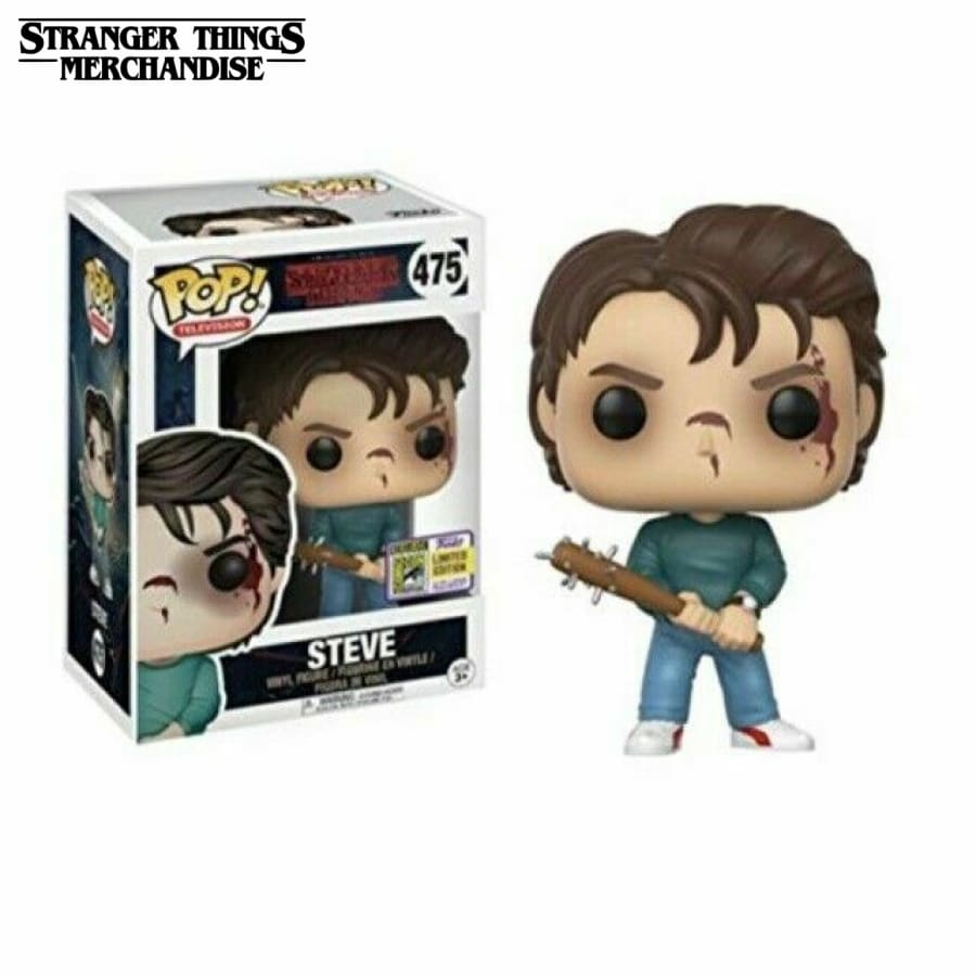 steve harrington with bat funko pop