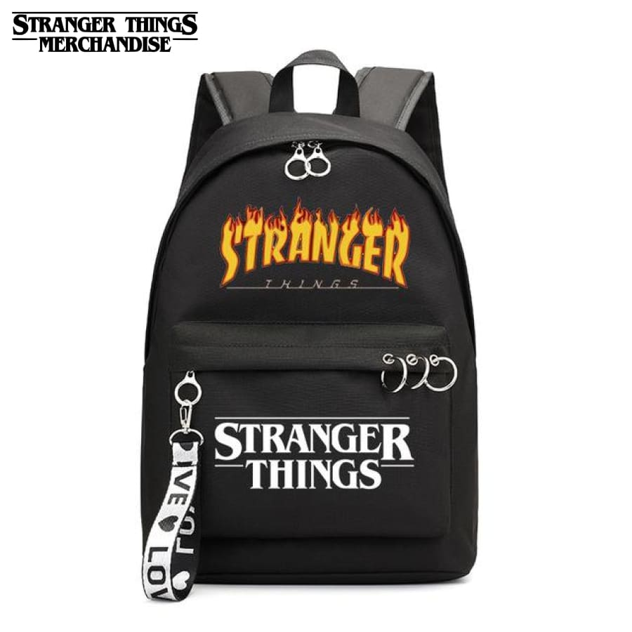 Strange backpacks