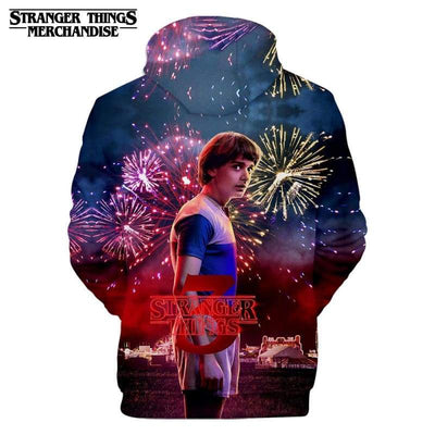 Stranger Things 3 Merch Hoodie