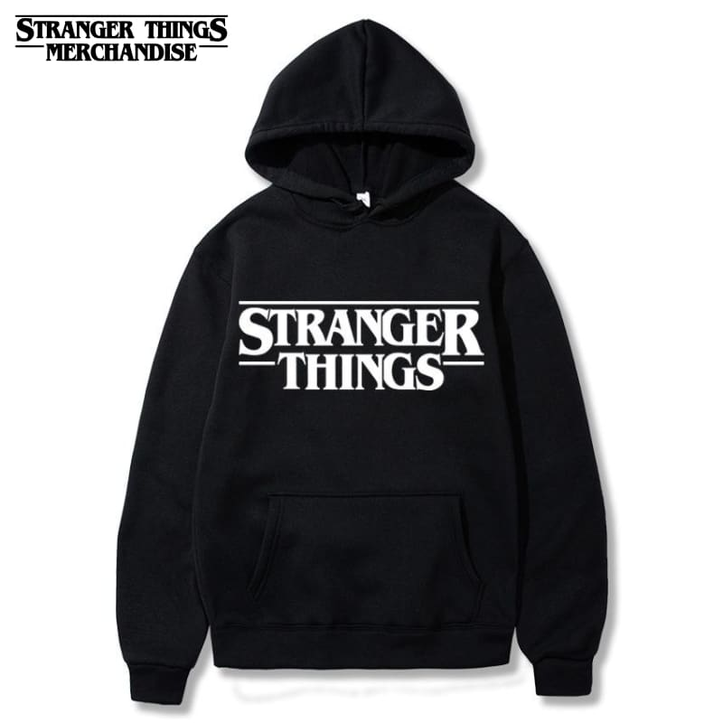 Stranger Things Hoodie <br> Black (Original)