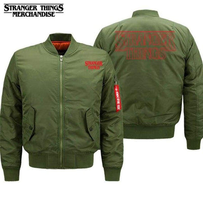 Stranger things bomber jacket