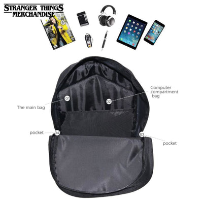 Stranger Things Characters Mini Backpack