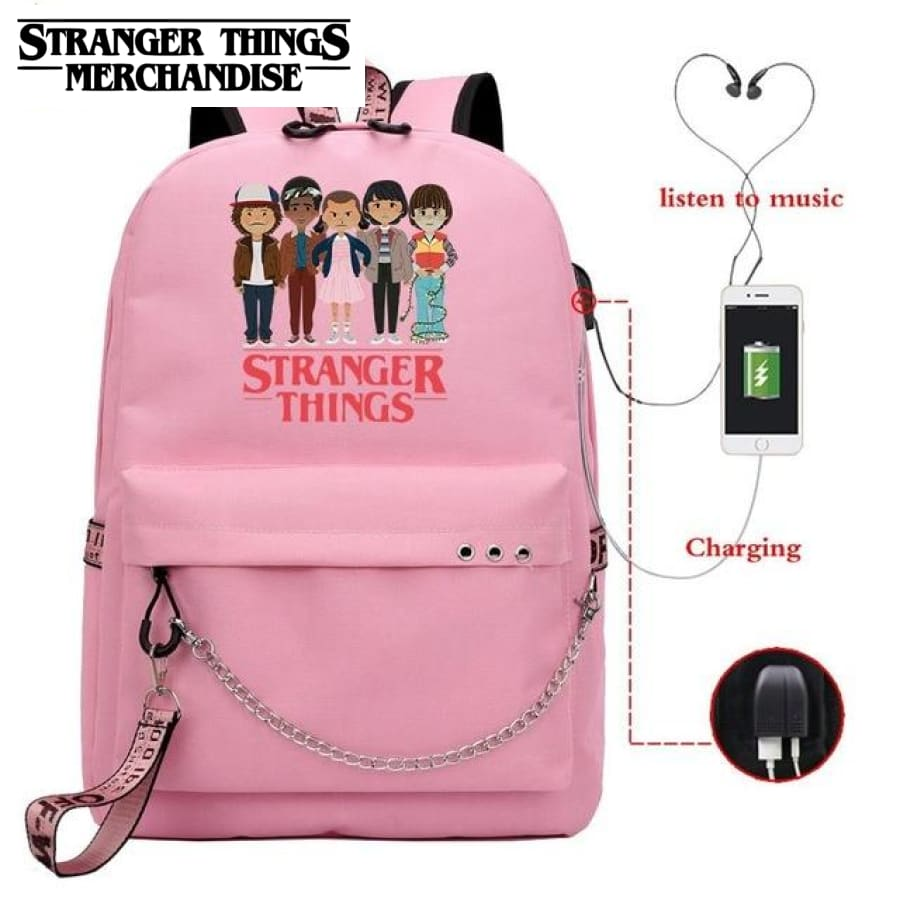 Stranger Things Chibi Backpack