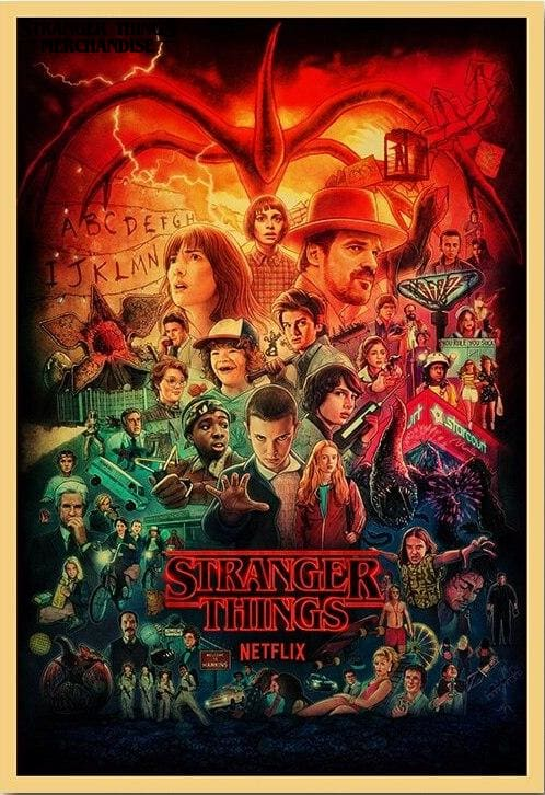 Stranger Things Poster <br> Stranger Things Day