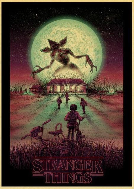 Stranger Things Poster <br> Demogorgon