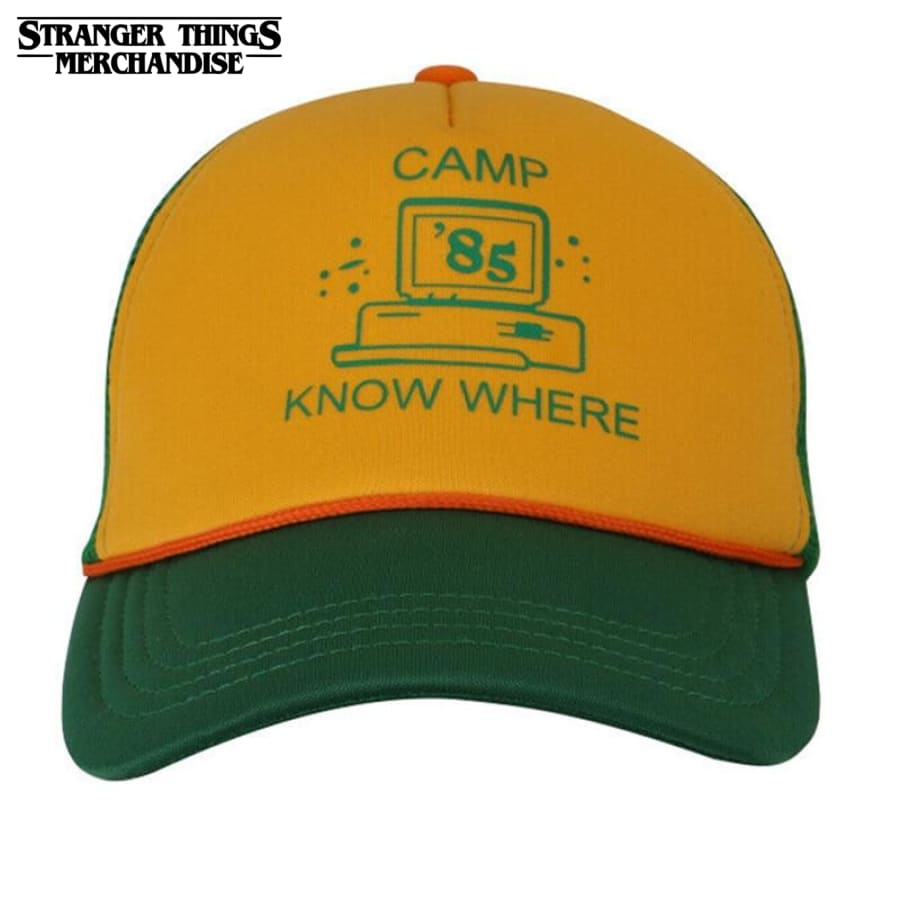 Stranger Things Hat <br>Dustin Camp Know Where