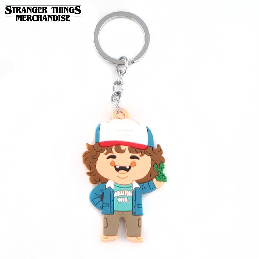 Stranger Things Keychain <br>Dustin Keyring