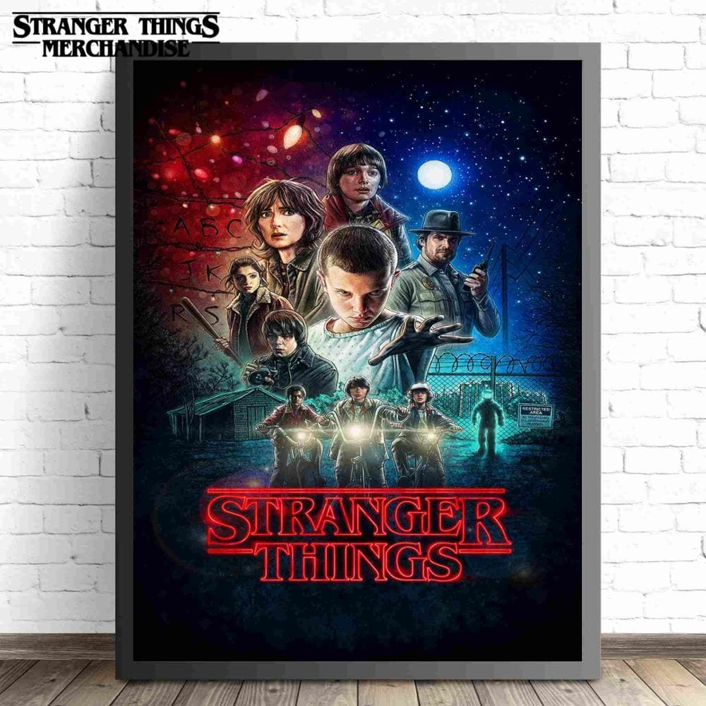 Stranger Things Poster <br> Framed