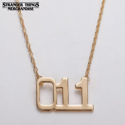 Stranger things friendship necklace