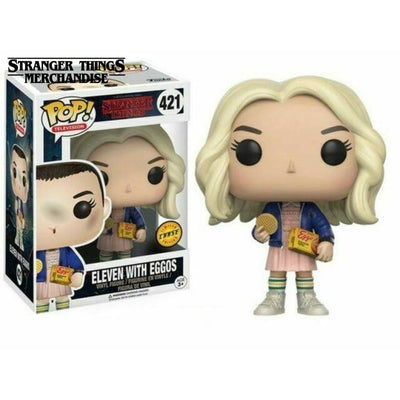 Stranger things funko pop eleven with eggos