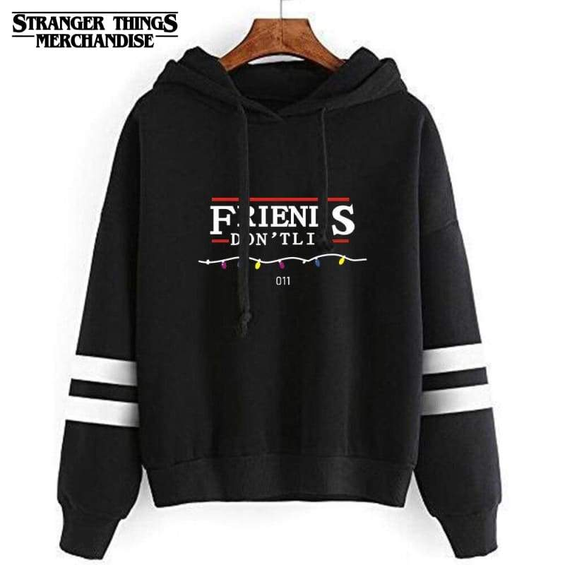 Stranger Things hoodie Friends don't lie
