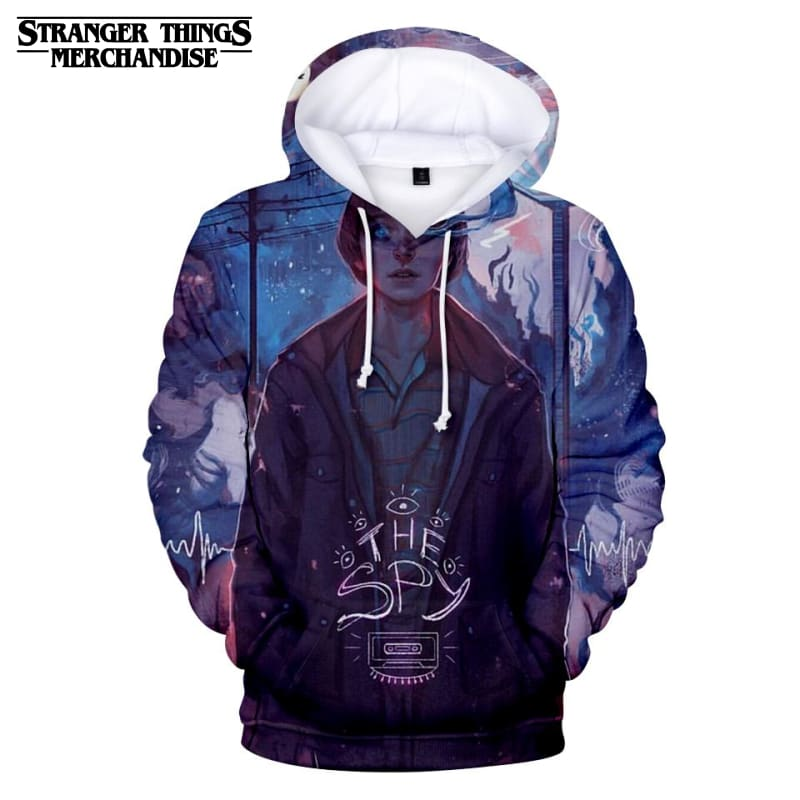 Stranger Things Hoodie The Spy
