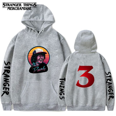 Stranger Things Hoodie These Pearls (Dustin)