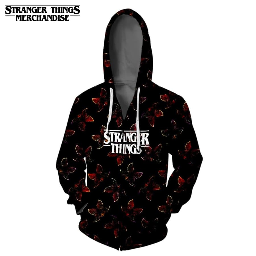 Stranger Things Jacket Hoodie<br> Demogorgon