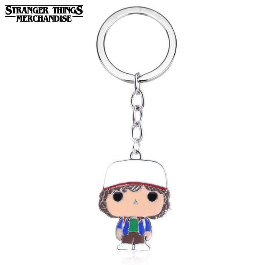 Stranger Things Keychain <br>Dustin Henderson
