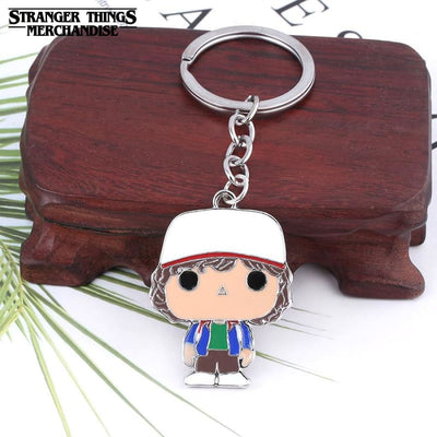 Stranger things keychain Dustin