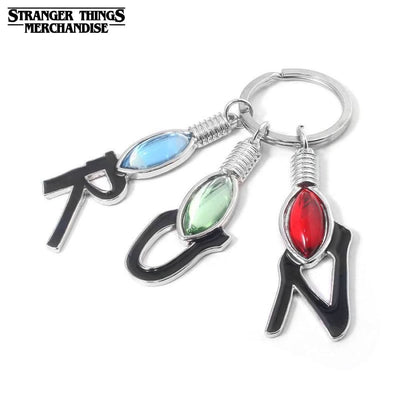 Stranger things keychain run