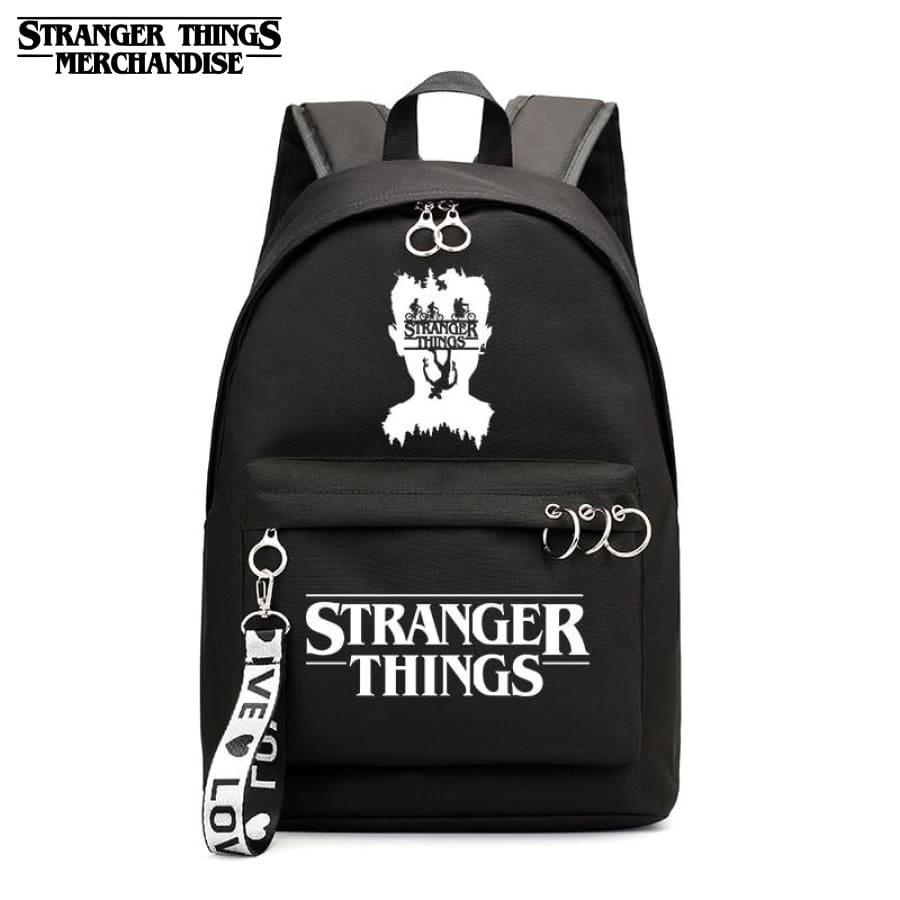 Stranger Things Logo Backpack