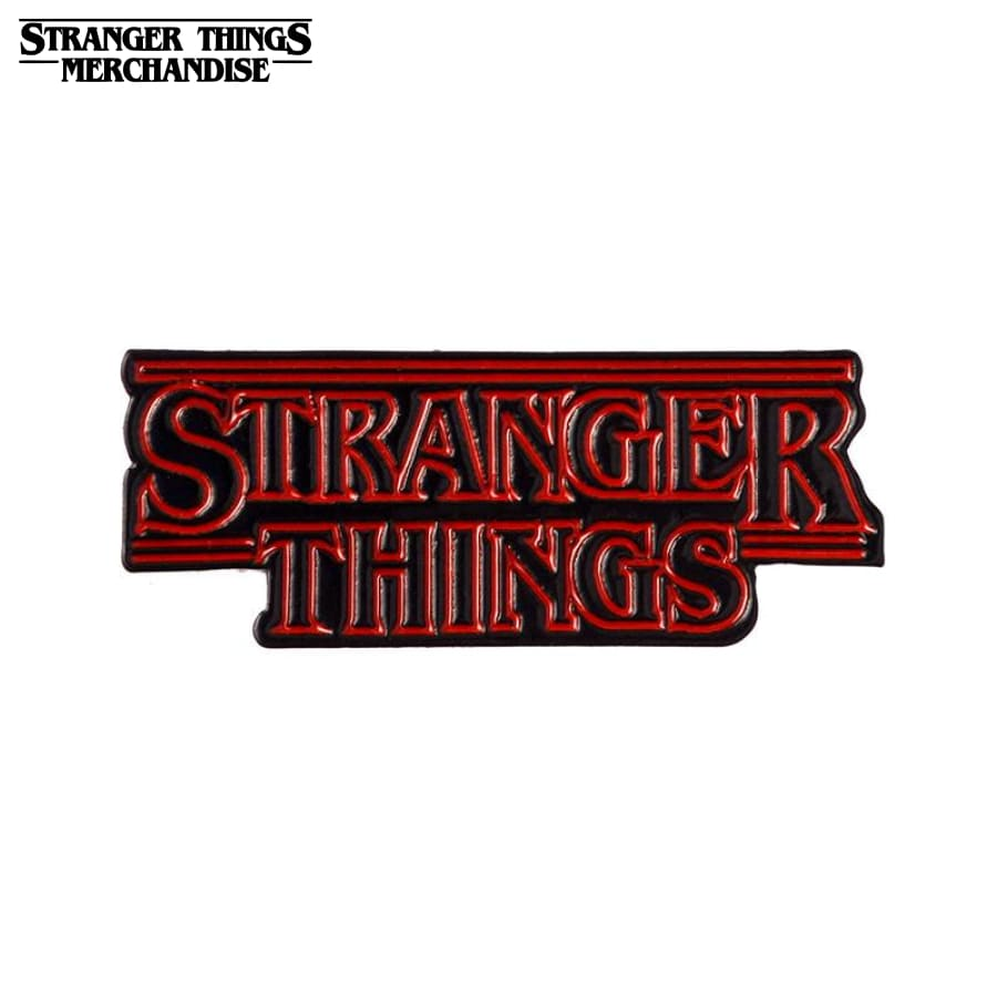 Stranger Things Pin <br>Logo