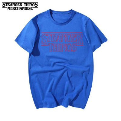 Stranger Things logo shirt