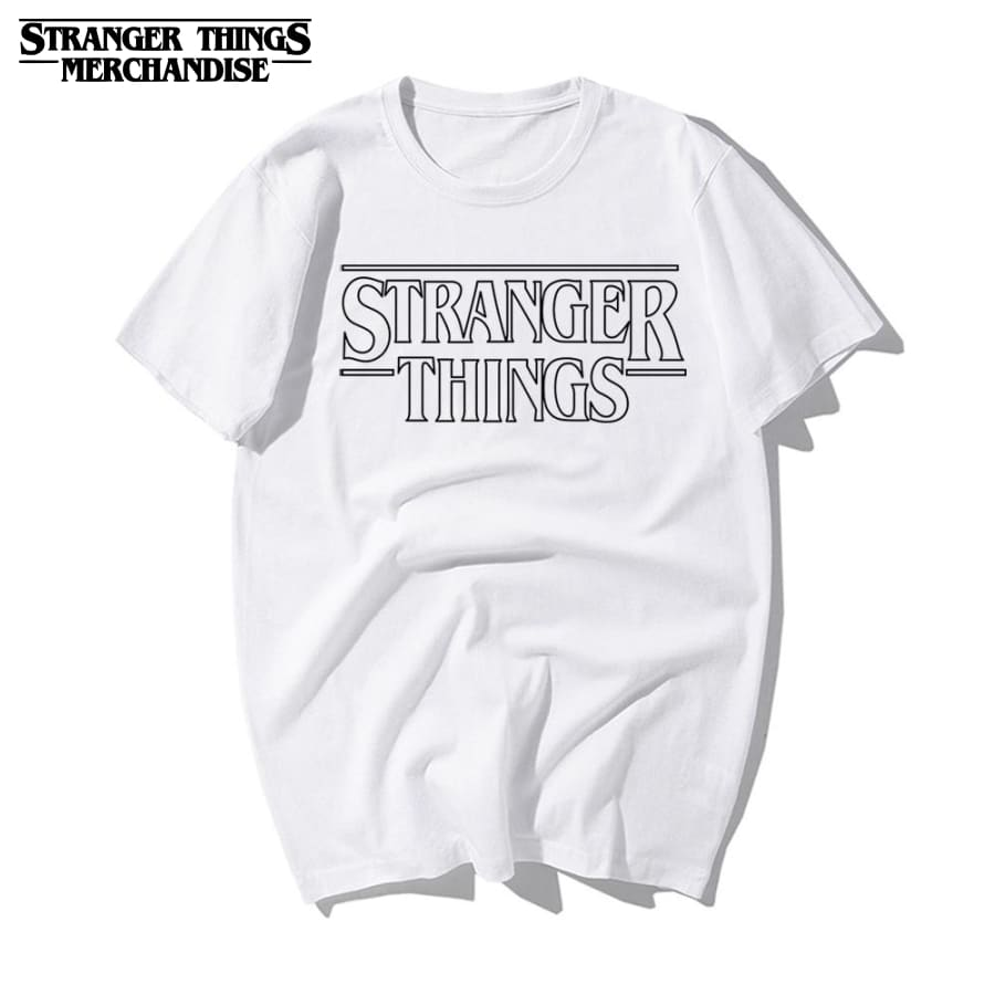 Stranger Things Shirt <br> Logo