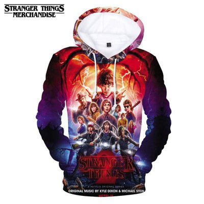 Stranger Things Season 2 Hoodie