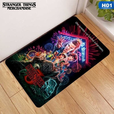 Stranger things rug