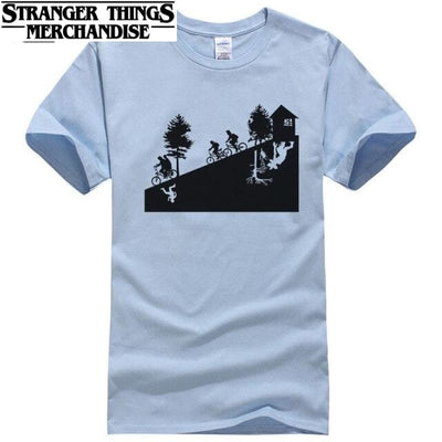 Stranger Things T-shirt Bike