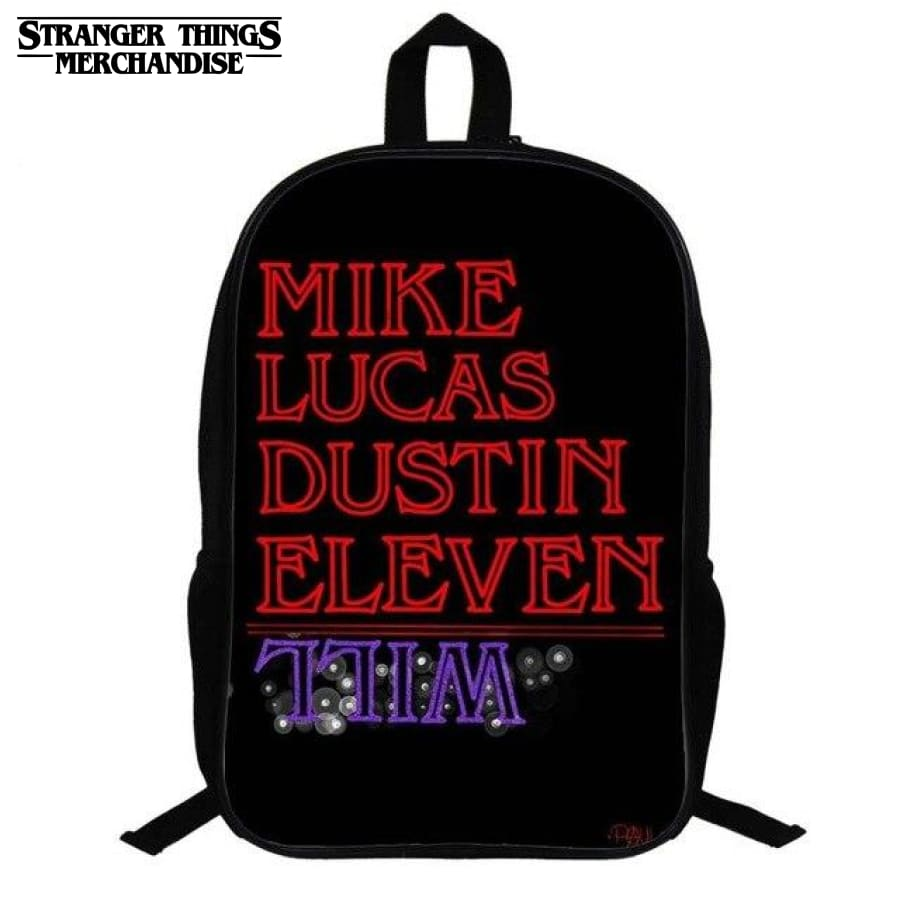 Stranger Things Merch Backpack