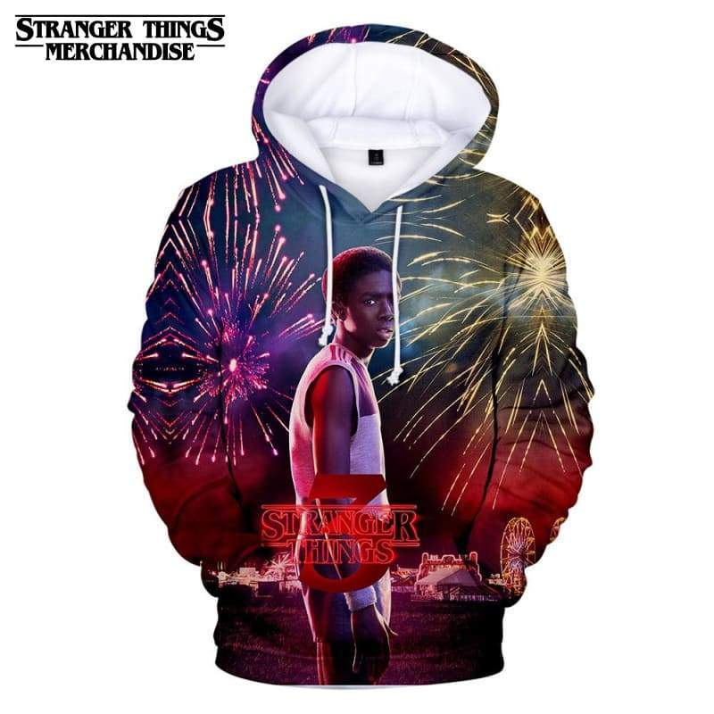 Stranger Things hoodie <br> Middle School