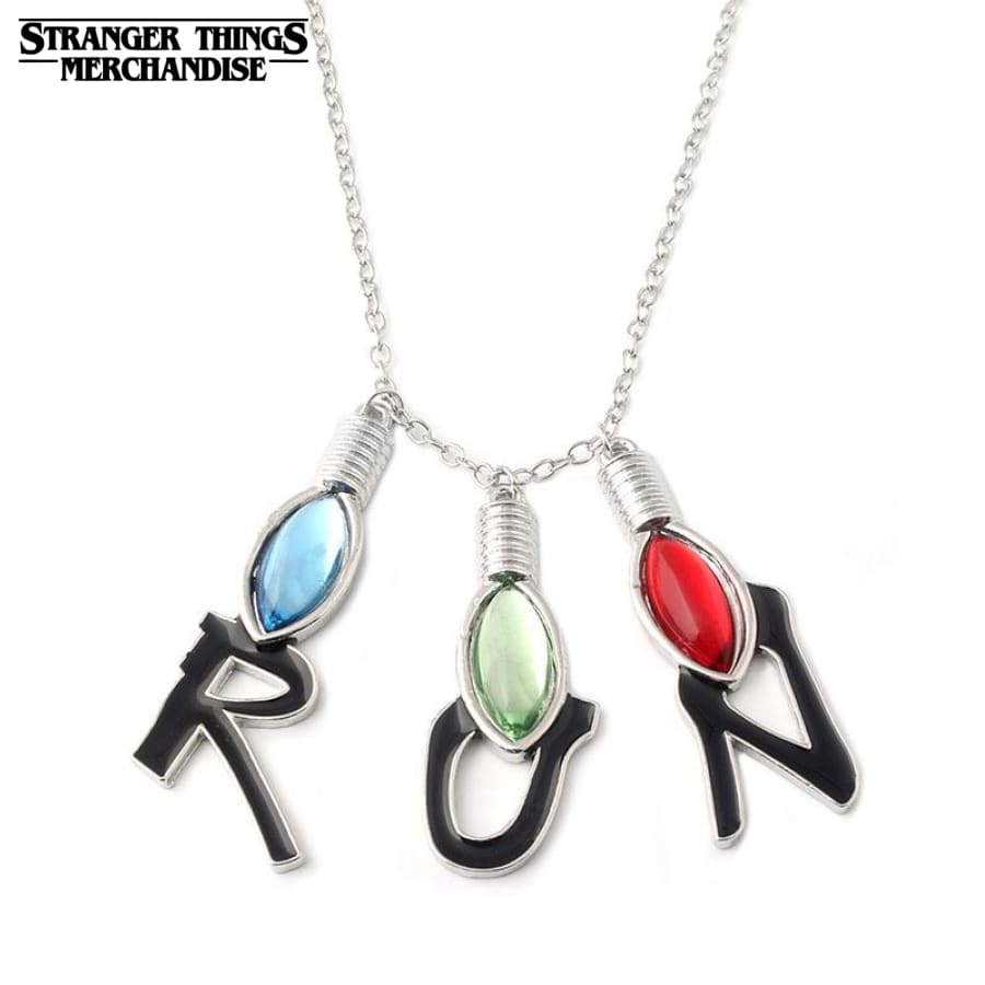Stranger things necklace run