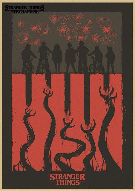 Stranger Things Season 3 Poster <br> Netflix Poster