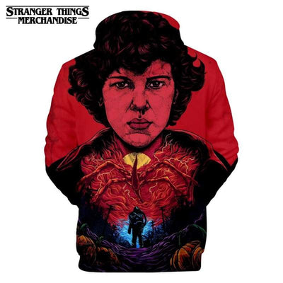 Stranger Things Oversized Hoodie