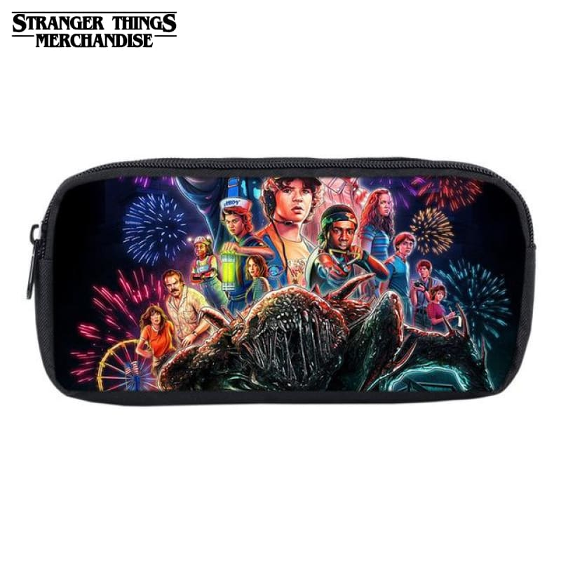 Stranger things pencil case uk