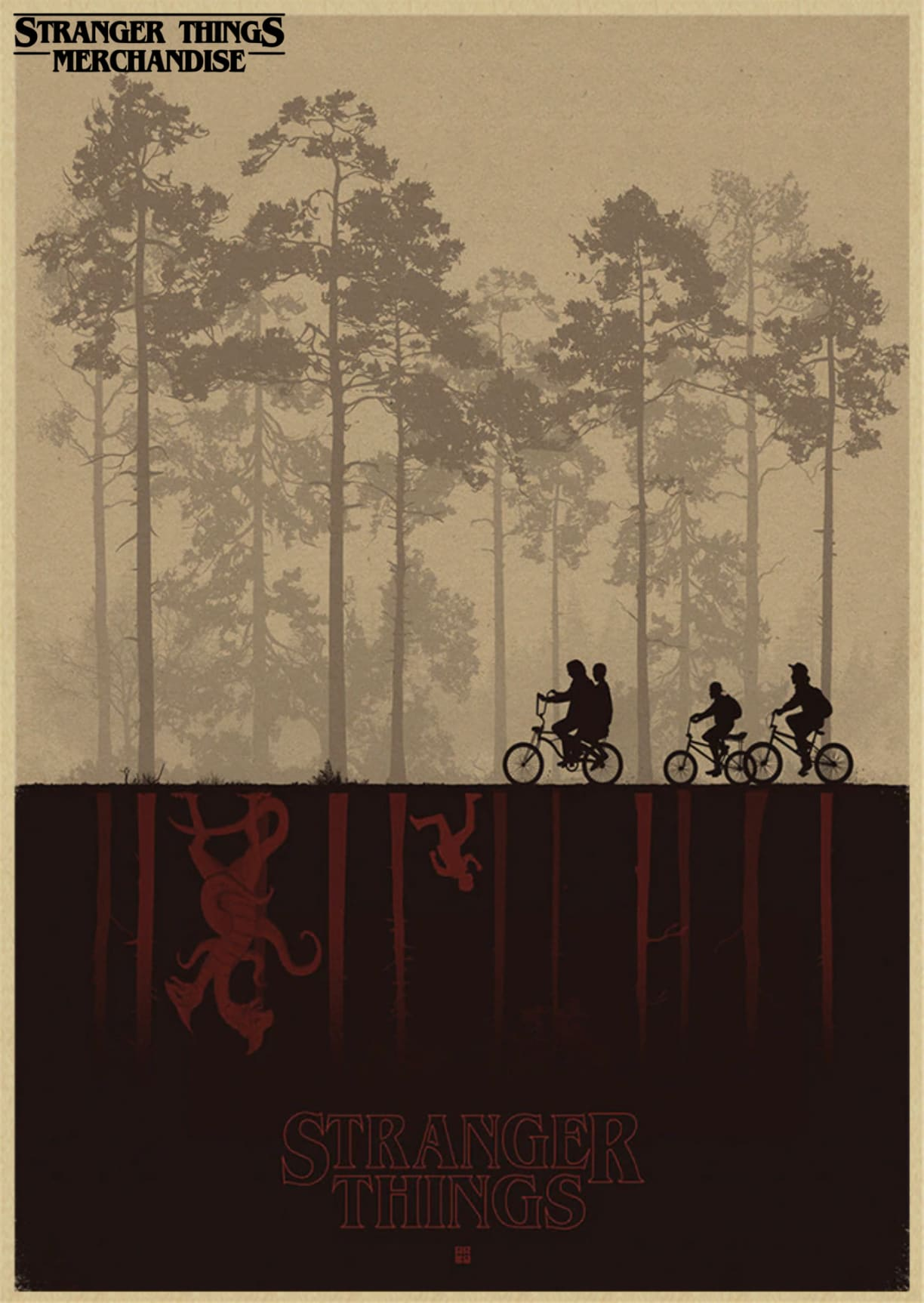 Stranger Things Poster <br>Podcast