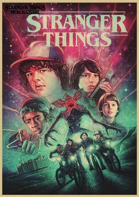Stranger Things Season 3 Poster <br> Drawing