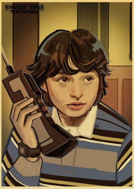 Stranger Things Poster <br> Mike